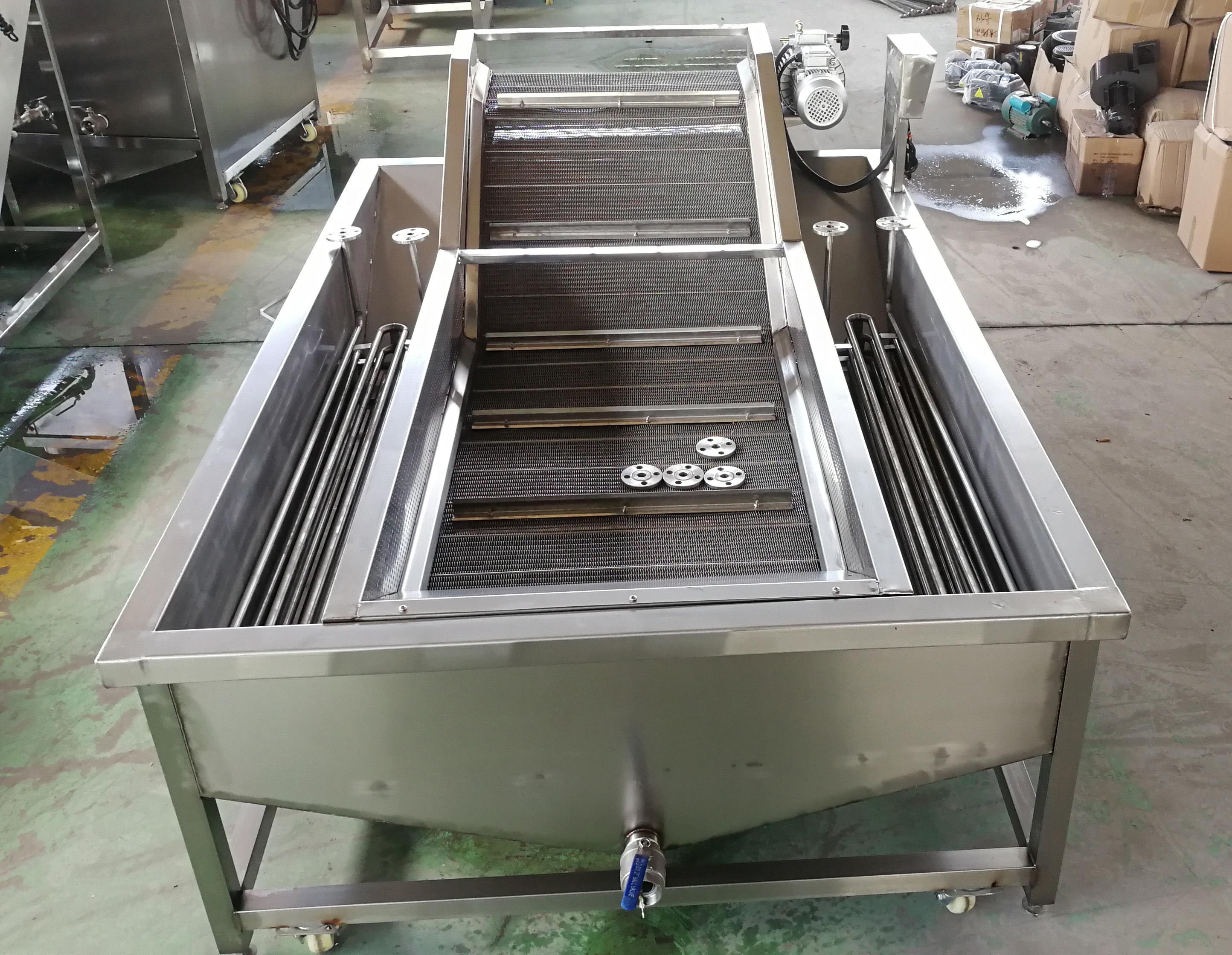 fish ice glazing machine