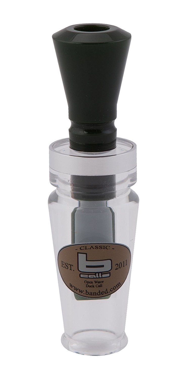 Banded Calls Open Water Single Reed Duck Call