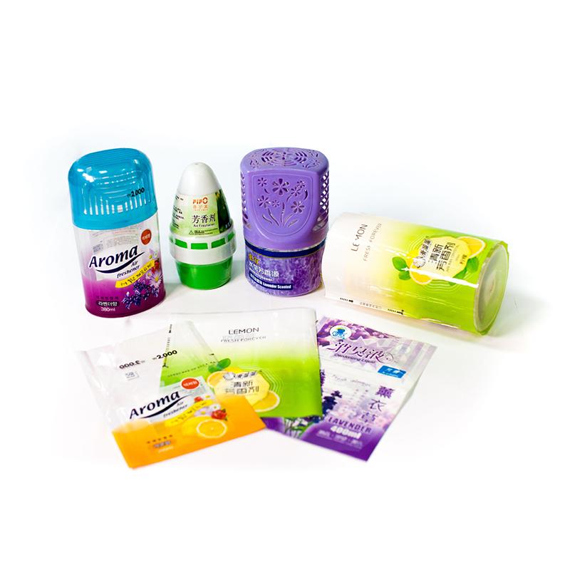 Schrumpf Pvc/pet/pof Kunststoff Flasche Rohr Rohr Label Film Druck Hersteller