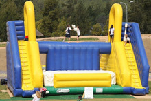 adult outdoor inflatable interactive sport game Inflatable Battle Zone, inflatable Jousting arena