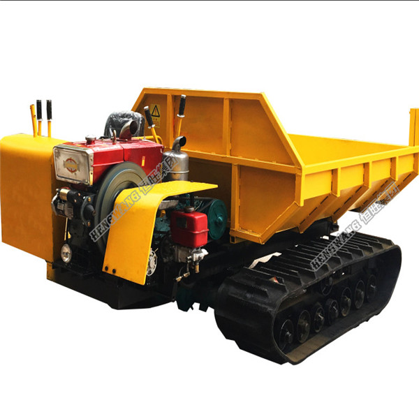 Crawler dumper/crawler transporter/track carrier