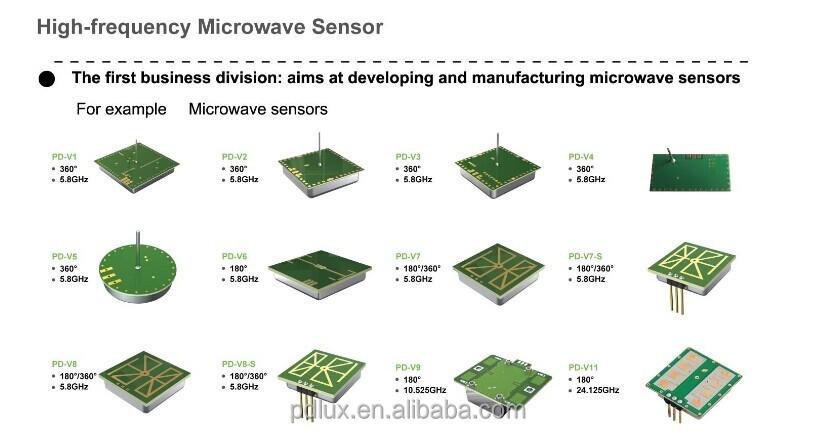 Pdlux Radar Sensor Microwave Sensor Module Pd-v11 - Buy Radar Sensor  Microwave Sensor Module,Microwave Transceiver Module,Zigbee Transceiver  Modules