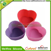Heart shape silicone cake mold good for lover