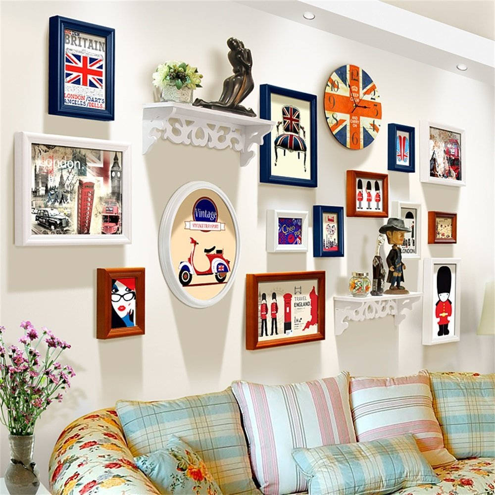 Cheap Wall Clock With Photo Frame Online India, find Wall Clock With ...