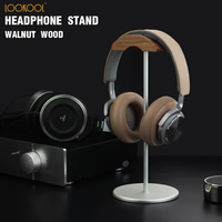 Headphone Stand 2019 Hot Sale Walnut Aluminium Headset Stand