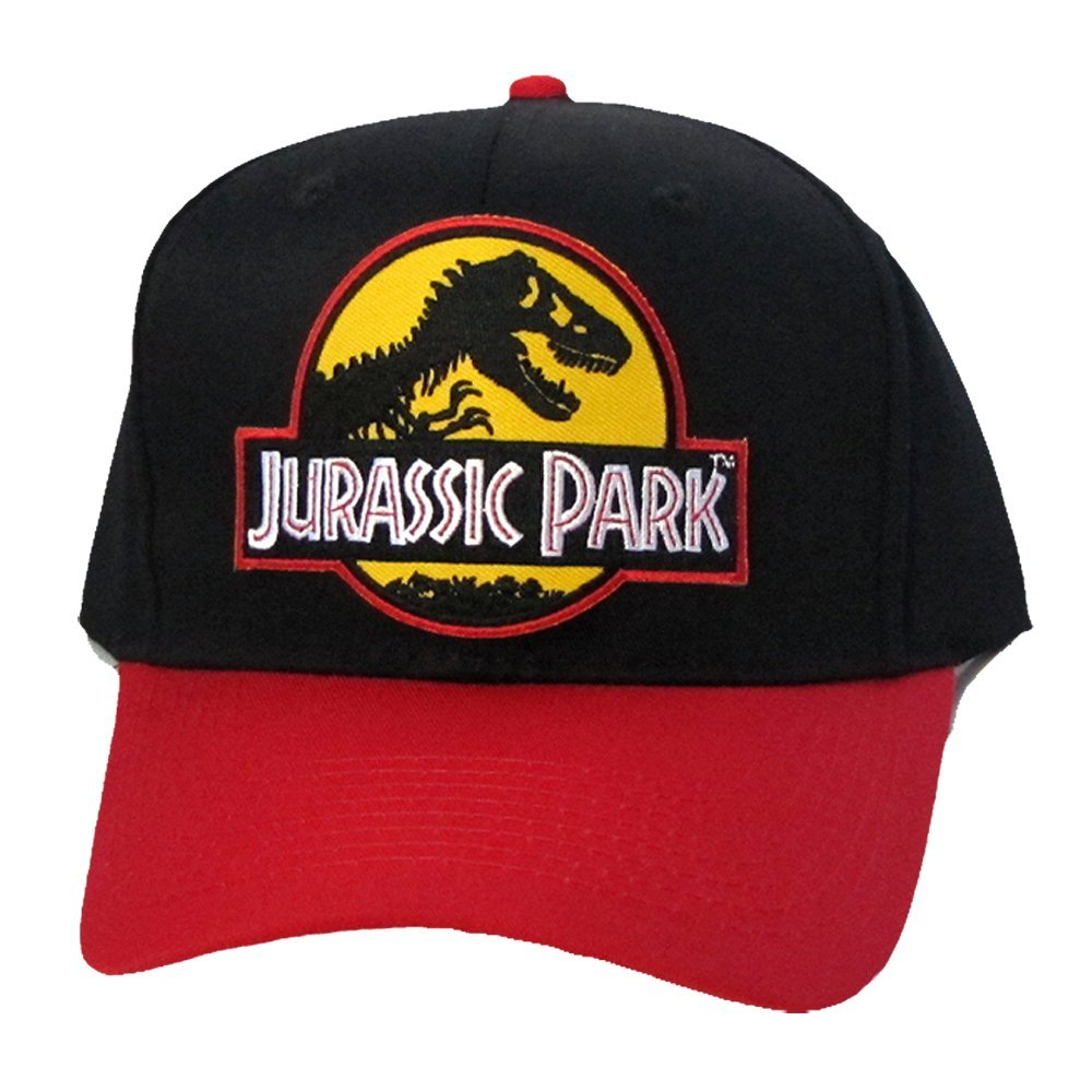 cbe5c2d3e Buy Jurassic Park Movie Sci Fi Patch Snapback 2 Tone Color Cap Hat ...