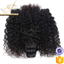 Wholesale loose curly brazilian human hair wet and wavy weave