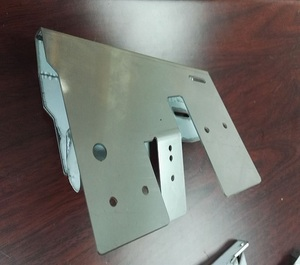 Custom manufactured sheet metal precision machined bending and welding pinball machine parts