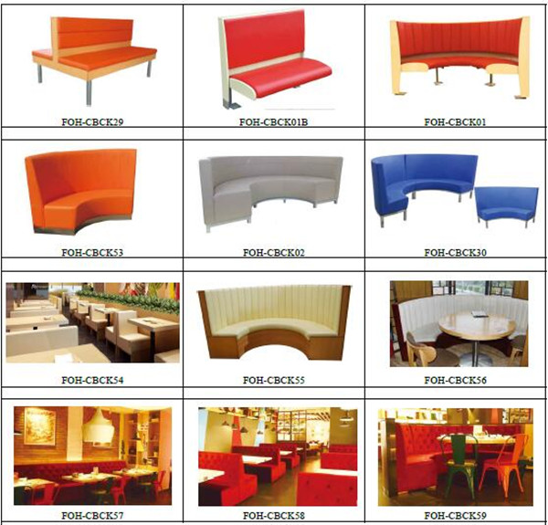 Luxury Furniture Restaurant Double Sided Sofa Booth(foh-xm32-477 ...