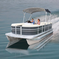 Aluminum Luxury Pontoon Boats and Ships