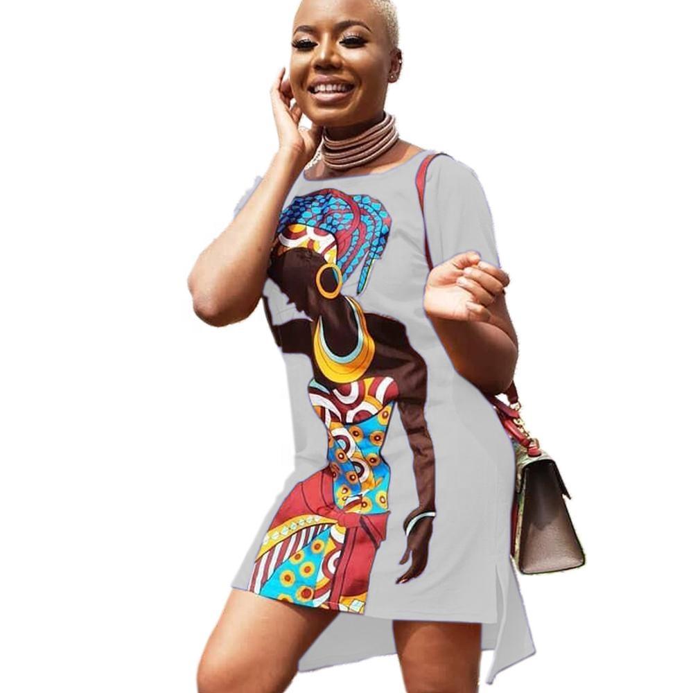 แฟชั่นออกแบบ Casual เสื้อผ้าพิมพ์พิมพ์แอฟริกา