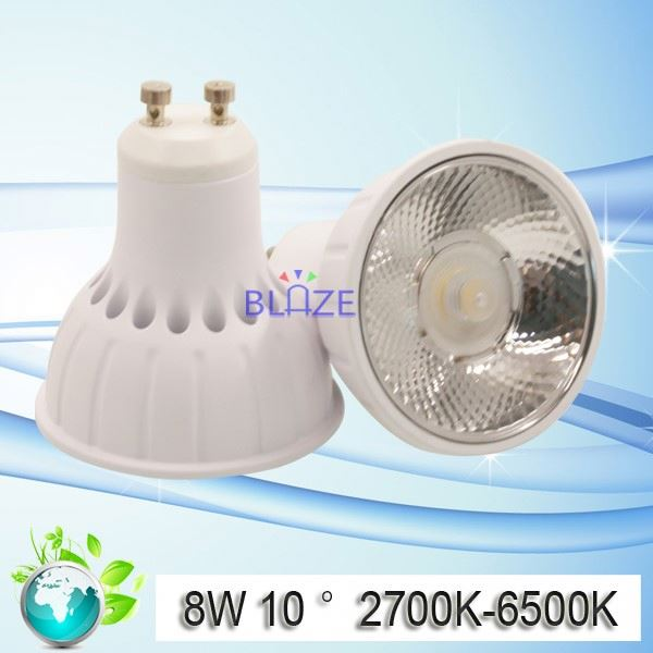 2017 Hot selling round led GU10 Spot low profile GU10 Spot light 7w 8W 15w COB series