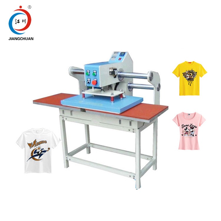 China Automatic T Shirt Heat Press Machine, China Automatic