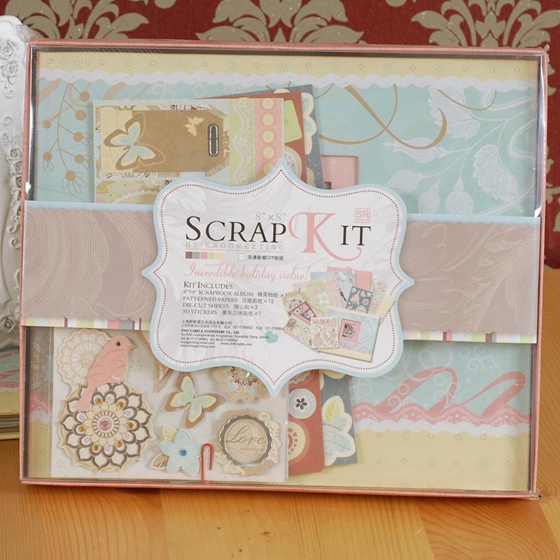 Mini Diy Scrapbook Kitmini Diy Photo Albummini Scrapbooking Buy