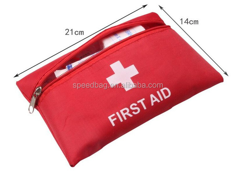 wholesale mini 1680D oxford outdoor emergency first aid kit bag
