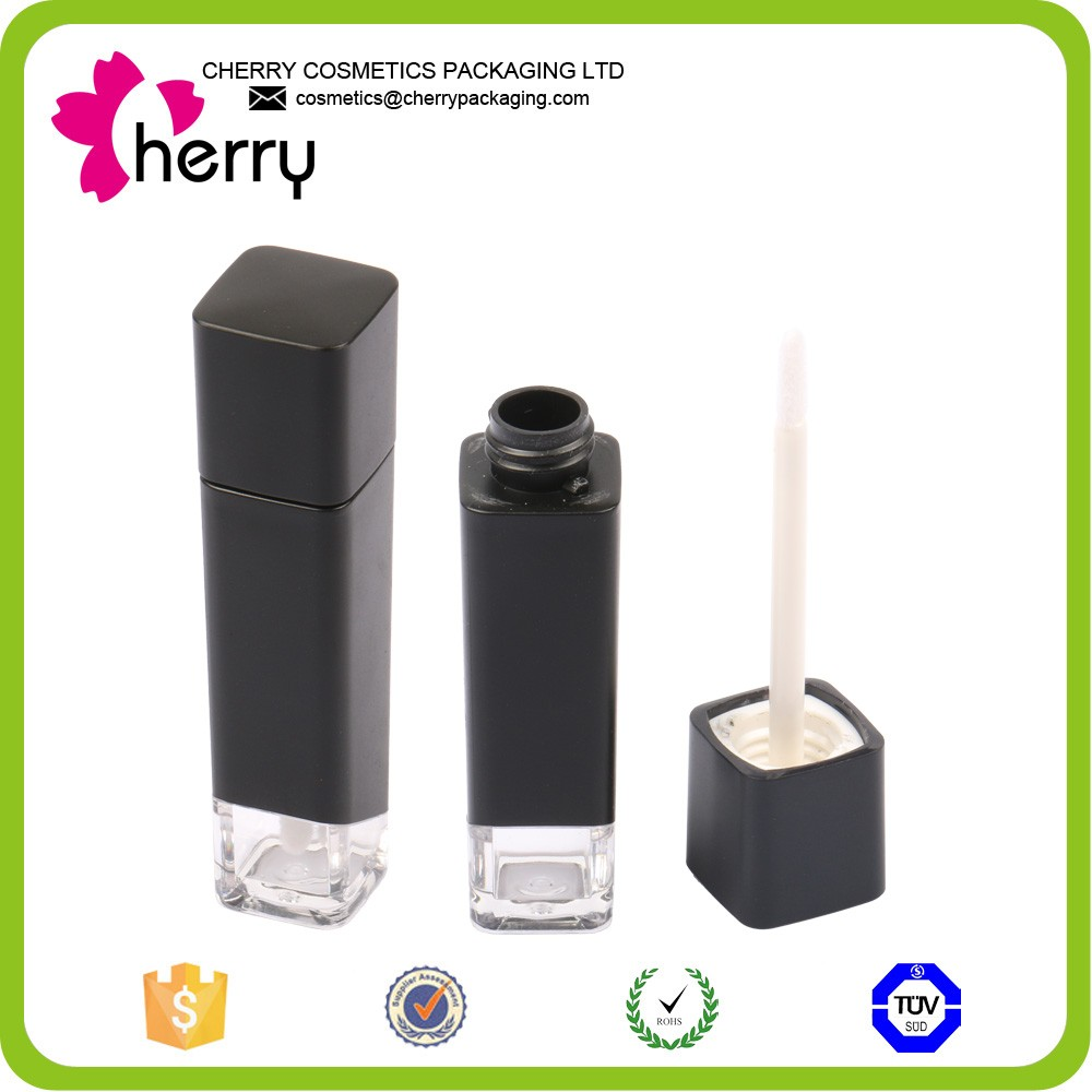 Make your own cosmetic high quality plastic round lip gloss container