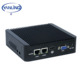 Yanling Ultra Low Power Mini PC J1900 Intel Quad Core CPU Dual Lan Ubuntu Fanless Desktop Computer with 4gb Ram