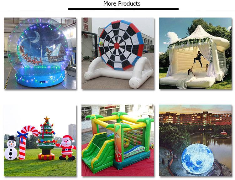 Chambre d'hôtel gonflable de bulle de PVC la plus vendue, tente gonflable transparente de loge de bulle, bulle claire gonflable pour l'hôtel