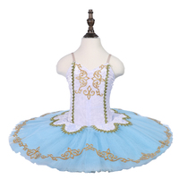 oct8017 Women blue bird ballet tutu costumes professional dance