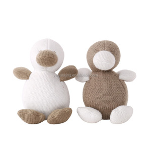 Cute wool duck toys funny gift to friend and kids lovely room deco doll toys