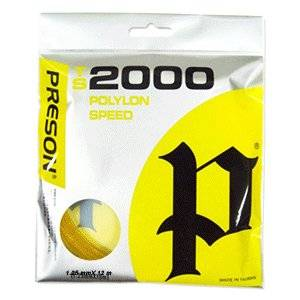 Ts 2000 (1+1= 2 Sets) Tennis String Poly Power, Spin, Control, Gut, Strings,guts, Polyester