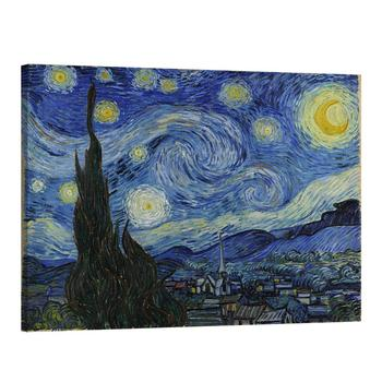 Famous Painting Reproduction Of Van Gogh The Starry Night Sunflowers