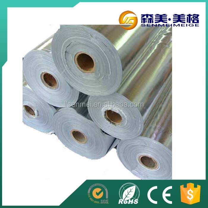 China wholesale other heat insualtion materials soft composited aluminum foil paper price