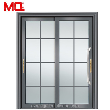 Chinese supplier 2.0mm heavy profiles powder coated aluminum sliding door