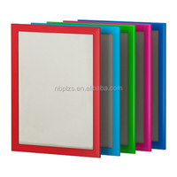 red blue black white powder coated aluminum colorful picture photo frames