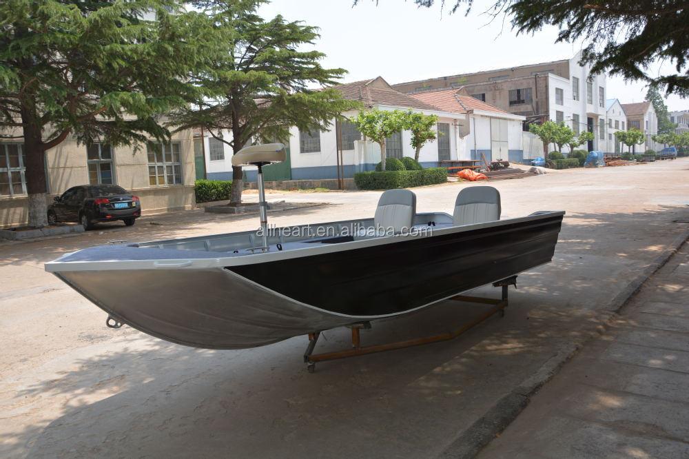 Cheap bass boat 17ft aluminium boats china buy aluminium for Best aluminum fishing boat