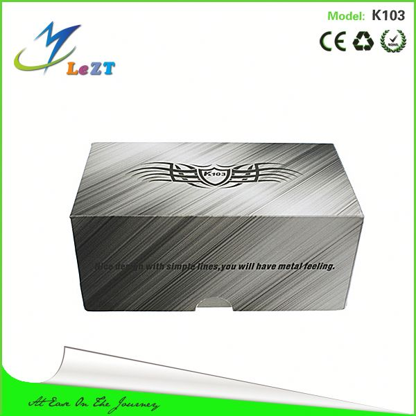 Cheap price E-cigarette wholesale distributorKamry K103 ecig with Locking system Stainless steel ecig