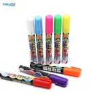 Wet Neon Window Erasable Fluorescent Glow in the Dark Dry Erase White Private Label Liquid Chalk Markers Refillable Pens set