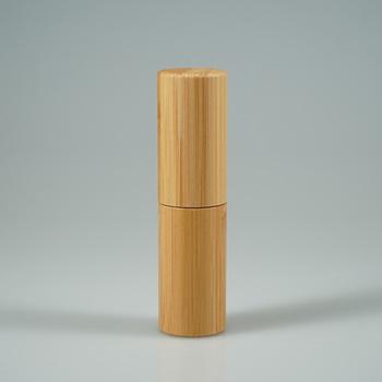 Eco Mini Lip Balm Bamboo Tube,Empty Lip Stick Container For Solid  Perfume,Deodorant - Buy Mini Lip Balm Tube,Packaging Lip Tube,Lip Stick  Container