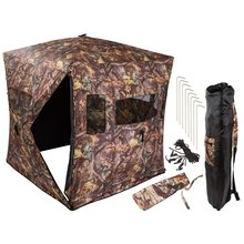 Outdoor opvouwbare camouflage jacht tent/jacht blind