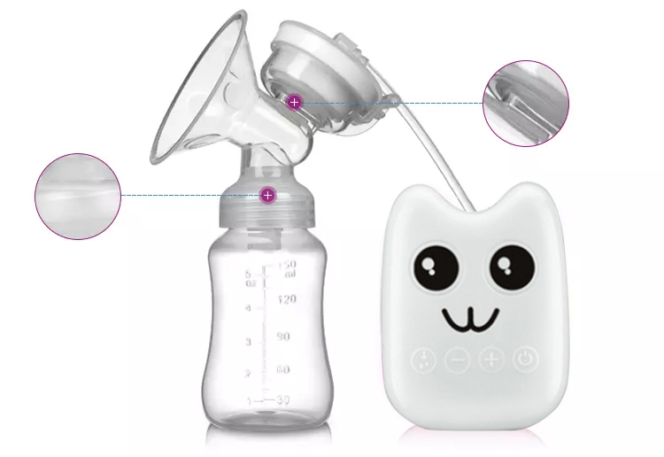 Newborn Baby Care Breastfeeding snow bear expressed advanced electric breast suction pump