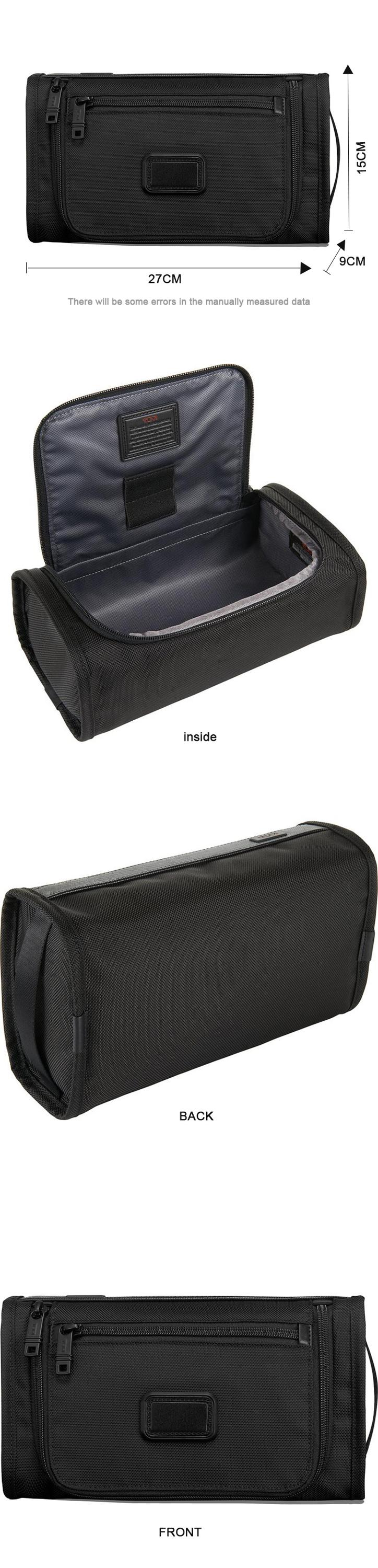 Larger capacity travel toiletries case unsex high quality nylon make up bag professional custom logo toiletry bag