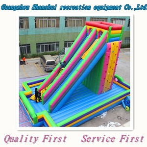 High quality Climb slide Bouncy House Type Commercial Inflatable Jumper Bouncer For Sale
