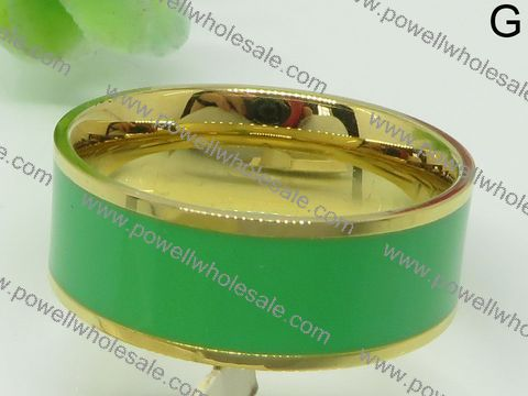 Fashion Jewlry factory price wholesale reversing green ring