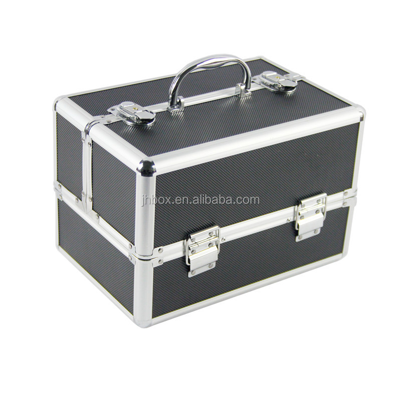 Professional aluminum maKeup case beauty box cosmetic case JH531