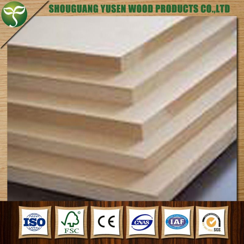 Good material mdf manufacturing