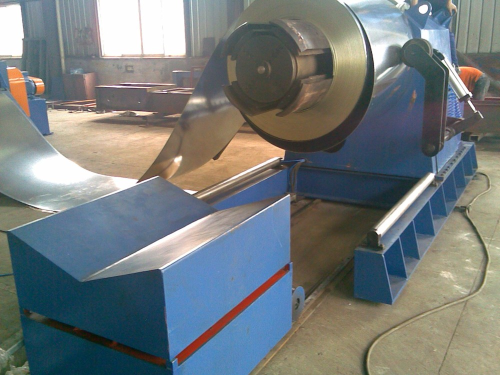 hydraulic steel coil decoiler for sale