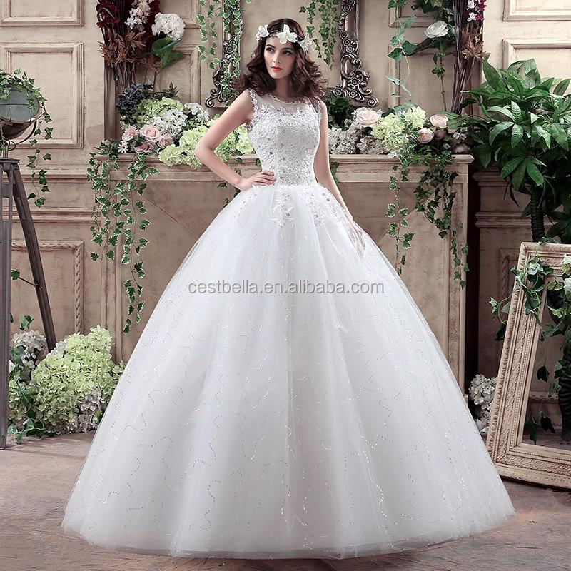 Eropa Fashion Gaun Pengantin Gaun Pengantin Gaun Busana Pernikahan
