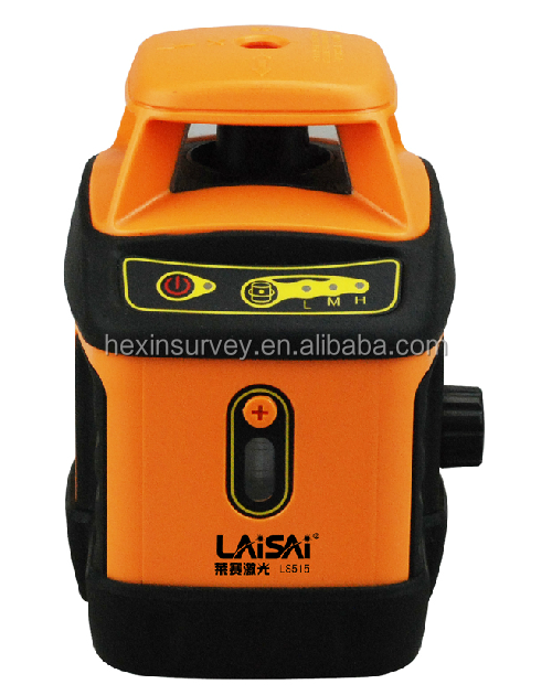 H-V 360 rotary laser leveling equipment laisai LS515II cross line laser level