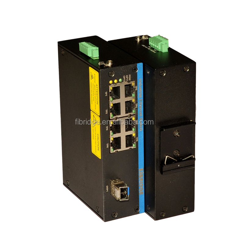 9 port ethernet Switch with 8 10/100M Ethernet Ports and 1 10/100/1000M Gigabit SFP Port