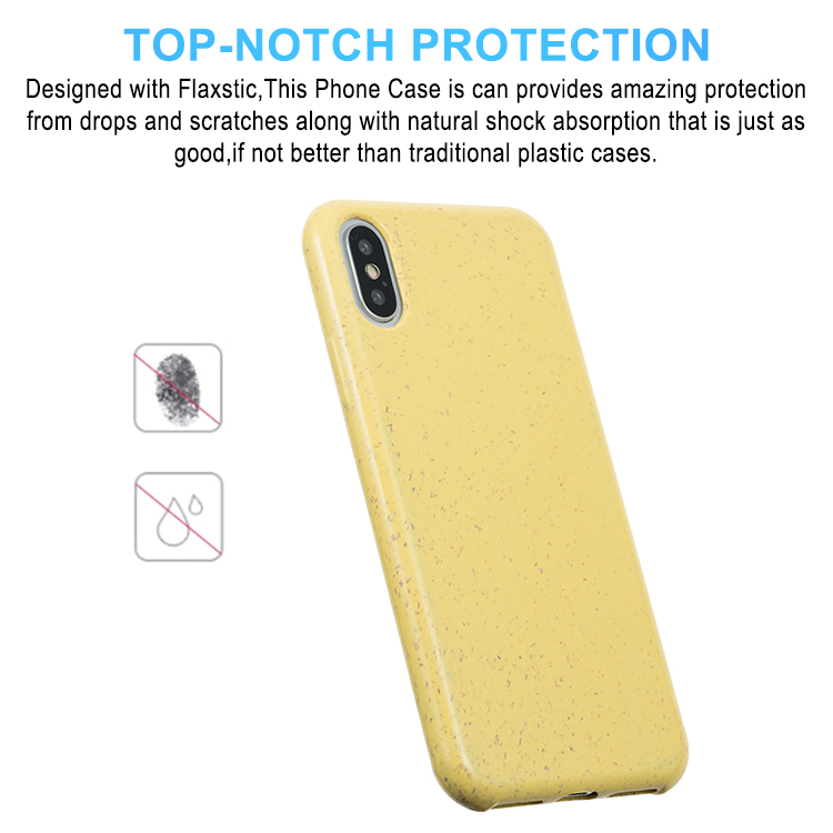 Best Custom Shockproof Biodegradable Platycodon Phone Case For iPhone