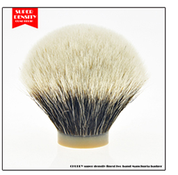 OUMO BRUSH-Specially for export Hand made colorful wooden handle silvertip badger hair shaving brush