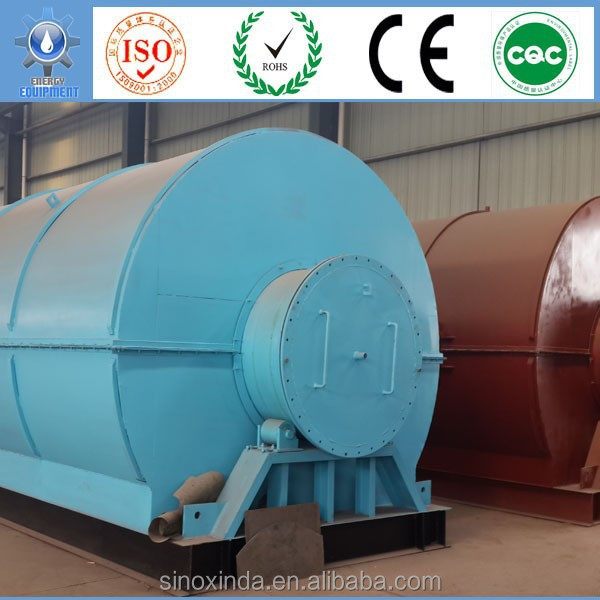 waste plastic to oil of plastic processing machine manufacture