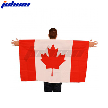 Hot Selling Custom Promotional Gift Print Polyester Canada Body Flag