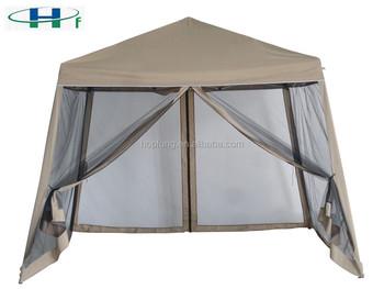 2.4x2.4/3x3 M Gazebo Pliant Avec Moustiquaire Tente Pliante Pas Cher - Buy  Tente Pliante Bon Marché,Tente Pliante Bon Marché De 2.4x2.4/3x3 ...