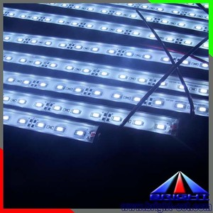 Shenzhen manufacture waterproof aluminum housing 5630 rigid led strip,LED light bar for indoor &outdoor